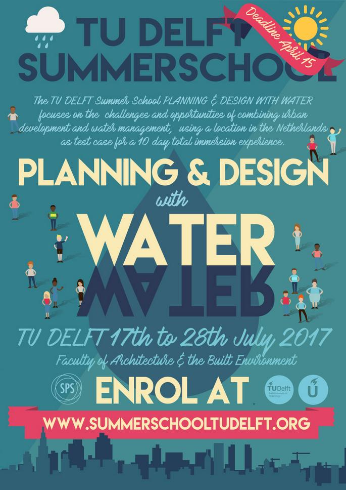 Post of the summer school on design, water and sustainability