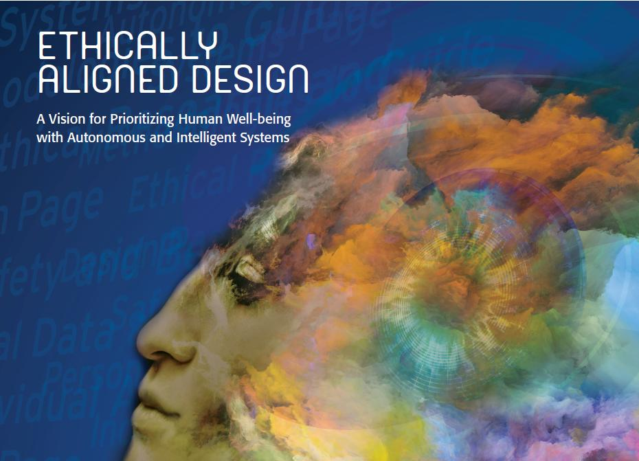 Cover IEEE report on ethics of intelligent systems