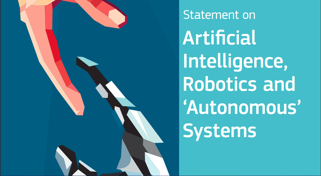 statement on ethics of artificial intelligence