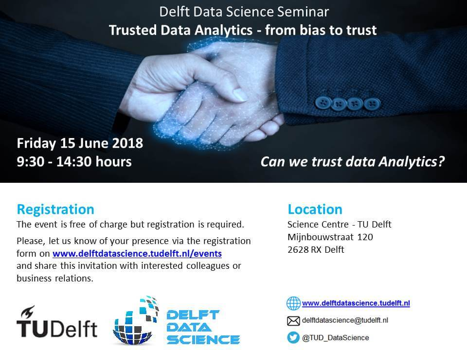 Trusted Data Analytics event banner