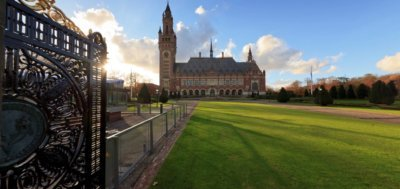 The Peace Palace in The Hague