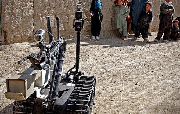 killer robot in Afghan