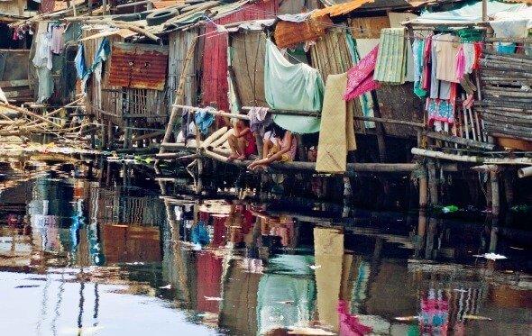 slum in the phillipines