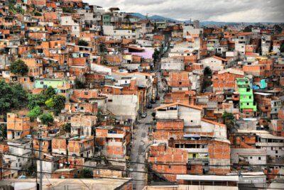 Cabucu neighbourhood in Sao Paolo
