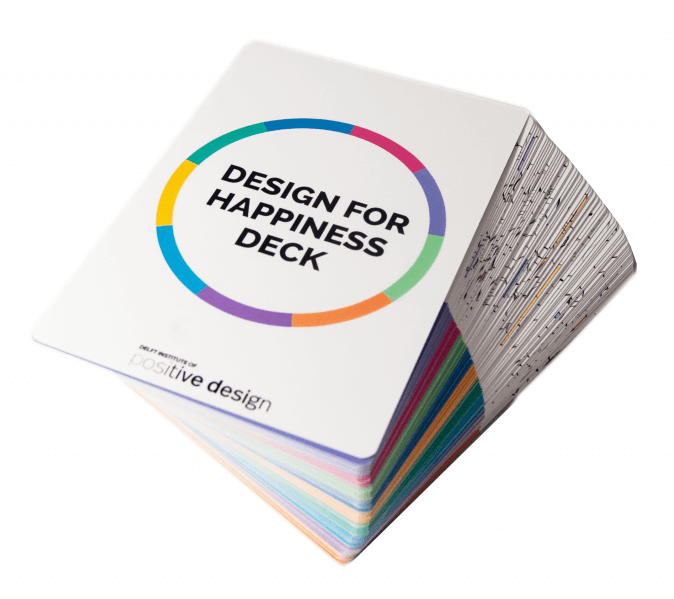 Design for happiness card deck