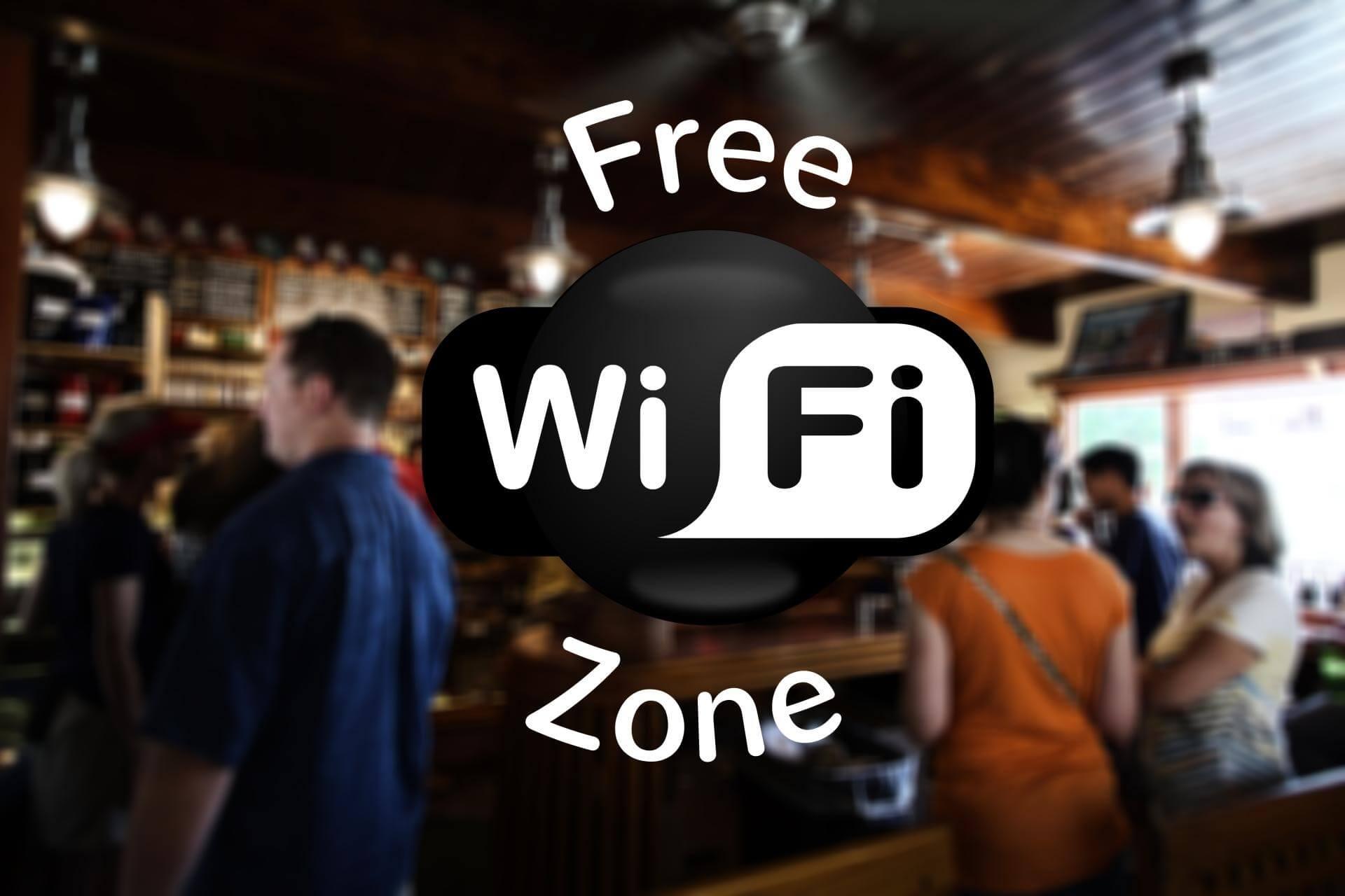 a wifi zone
