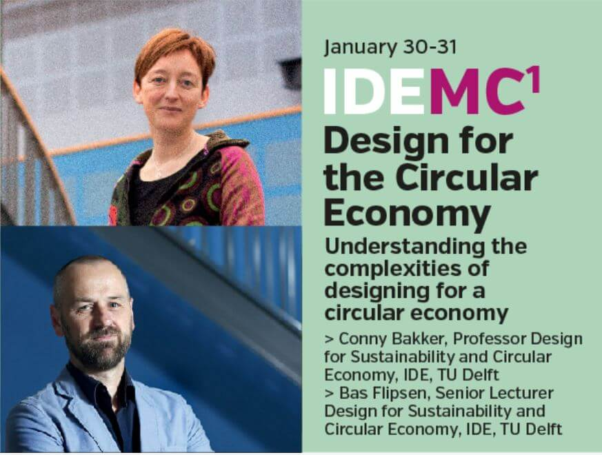 flyer IDE masterclass on design for the circular economy