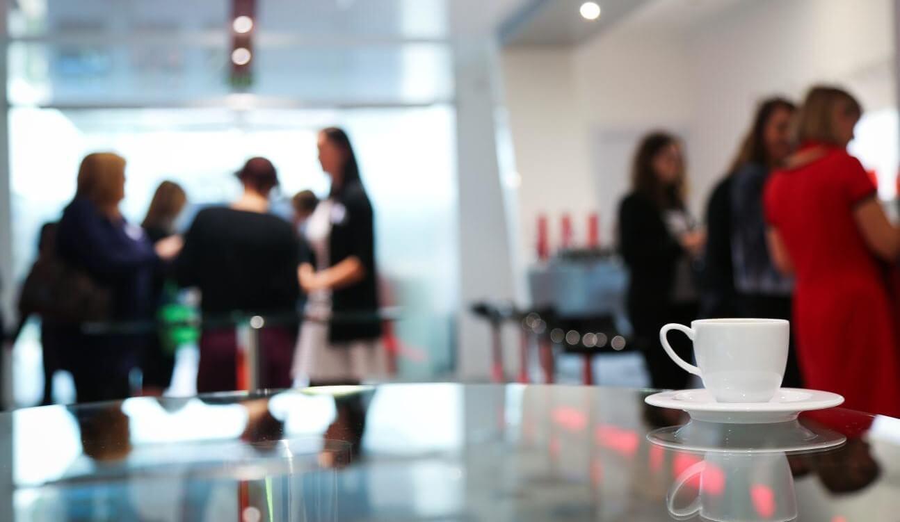 Coffee break at a value sensitive design event