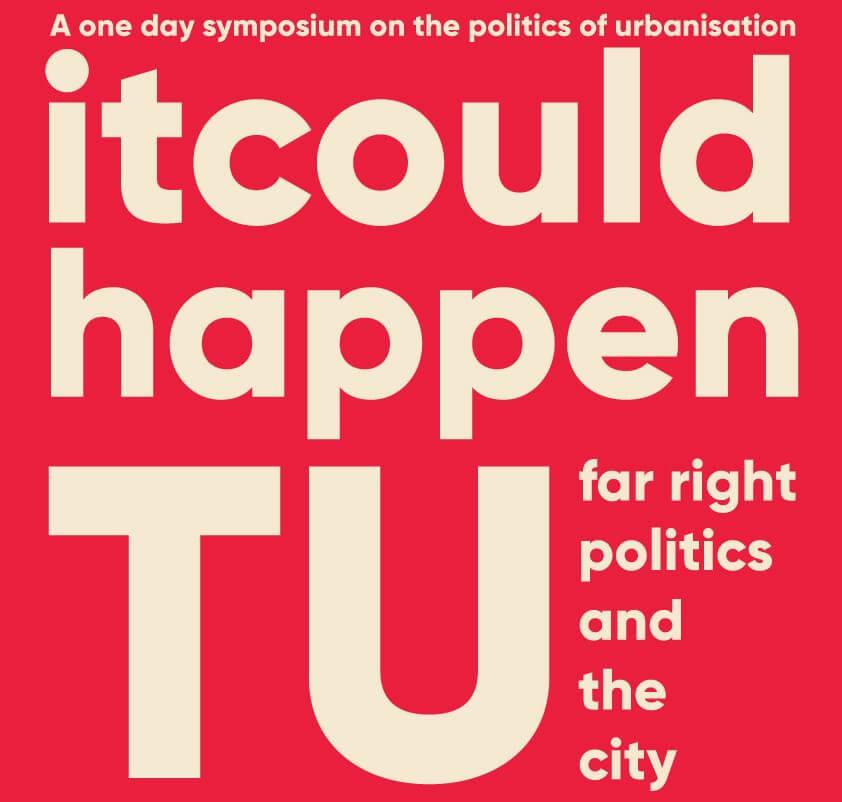 Flyer symposium on the politics of urbanisation